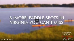 paddling YouTube video screen capture