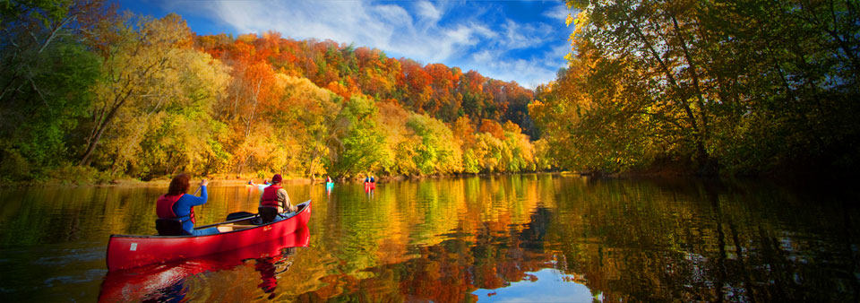 Paddling the Upper James River Water Trail