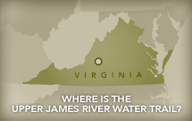 Where is the Upper James River Water Trail?