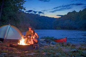 camping along the Upper James River Water Trail