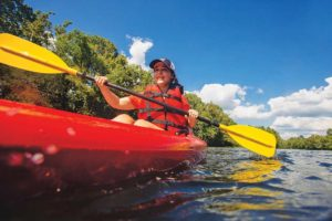 kayaking the Upper James courtesy of Sam Dean Photography