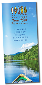 Upper James River Water Trail brochure cover